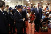 Danilo Medina visita Buque Hospital Military Sealift Command USNS Comfort de Estados Unidos, ofrecerá más de 3000 consultas durante 6 días