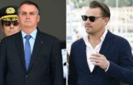 Bolsonaro acusa a Leonardo DiCaprio de financiar organismos que incendian la Amazonía