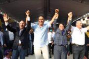 Presidente Medina encabeza acto en apoyo a Gonzalo y candidatos en La Vega