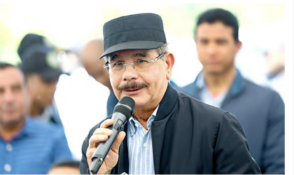 Presidente Medina celebra sus 68 años junto a productores de leche y ganaderos