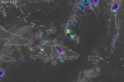 Onamet pronostica lluvias en las regiones noroeste y suroeste por vaguada