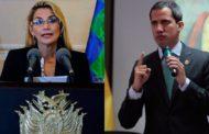 Jeanine Áñez reconoció a Juan Guaidó como presidente de Venezuela
