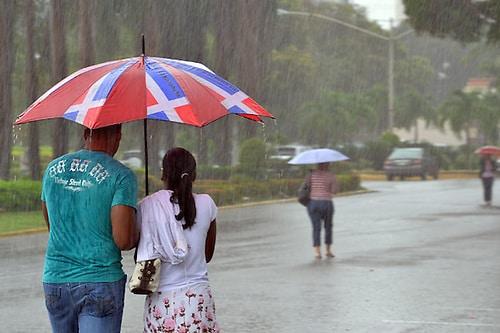 Onamet: lluvias dispersas sobre el país por sistema frontal y onda tropical