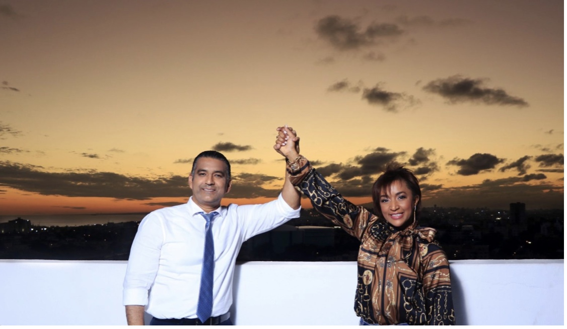 Luis Alberto Tejeda elige a la pastora Nancy Amancio como su compañera de boleta municipal alcaldía SDE