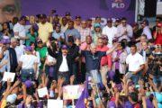 Danilo y Gonzalo realizan marcha multitudinaria en el Distrito Nacional