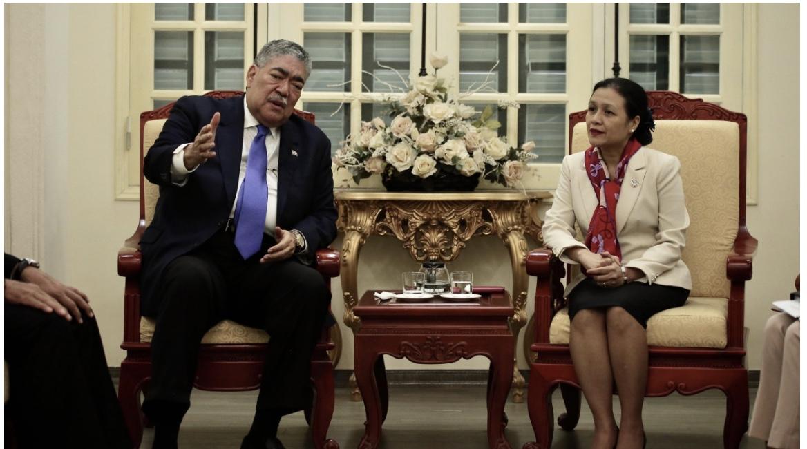 En visita a Vietnam, ministro Políticas Integración Regional RD fortalece relaciones bilaterales y se reúne con diputada Nguyen Phuong Nga
