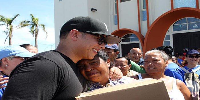 Daddy Yankee lleva ayuda a los damnificados del sur de Puerto Rico