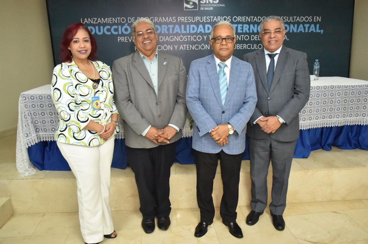 Destinan RD$282 millones para Programas Presupuestarios Orientados a Resultados en Reducción Mortalidad Materna-Neonatal, VIH-SIDA y Tuberculosis