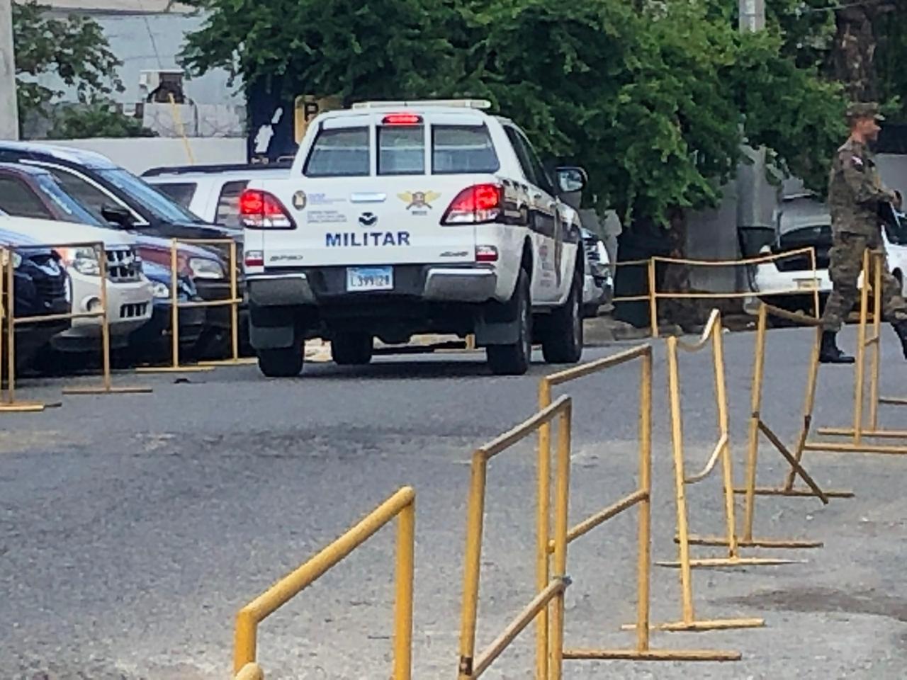 JCE extrema las medidas de seguridad en la sede central