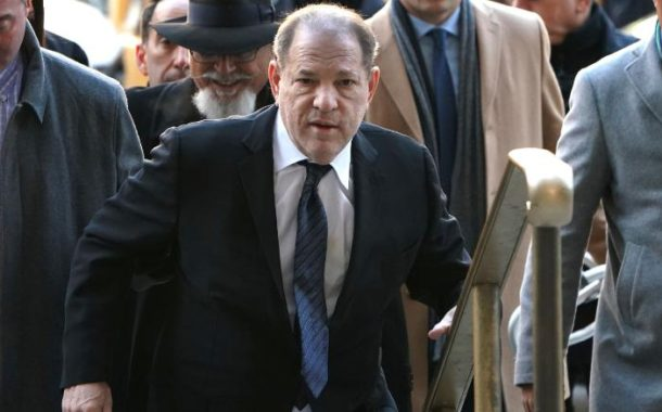 Harvey Weinstein arrojó positivo al coronavirus, según medios