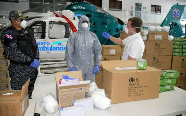 Gonzalo Castillo inicia distribución de ayuda para combatir el COVID-19