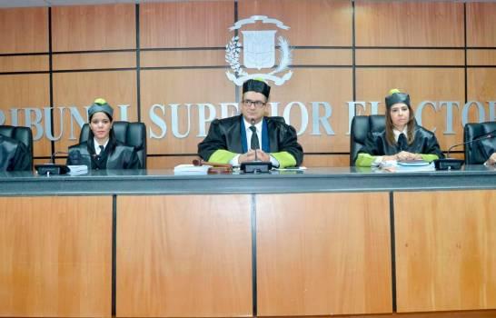 TSE declara inadmisible acción de amparo buscaba suspensión comicios de julio