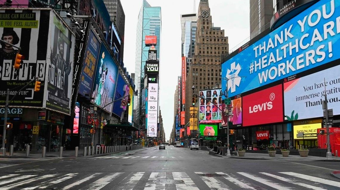 Nueva York extiende su cuarentena por coronavirus hasta el 13 de junio