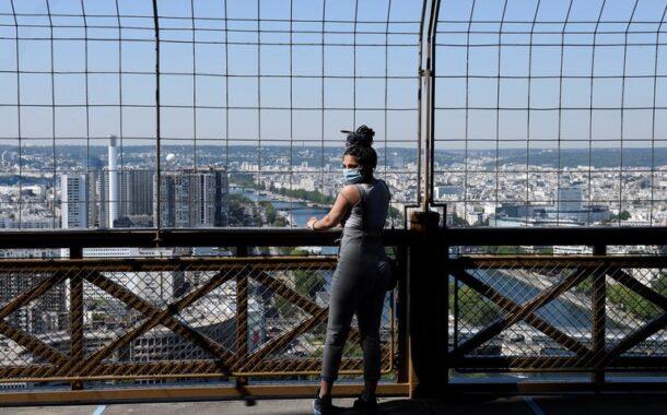 La Torre Eiffel reabre tras un cierre de más de tres meses por la pandemia