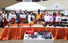 Para fortalecer respuesta ante huracanes, Gobierno entregó equipos a la Defensa Civil con fondos donados por los Emiratos Árabes Unidos