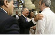 Presidente Danilo Medina recibirá mañana, en su despacho del Palacio Nacional, al presidente electo Luis Abinader