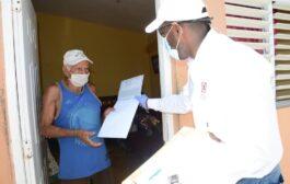 Comisión de Titulación completa la entrega de 2,047 títulos a domicilio en Nagua y Cabrera
