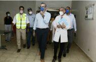 Presidente Luis Abinader deplora condiciones en las que se encuentra el Hospital Regional Dr. Antonio Musa
