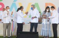 Presidente Luis Abinader encabeza inauguración de la plaza Bávaro City Center